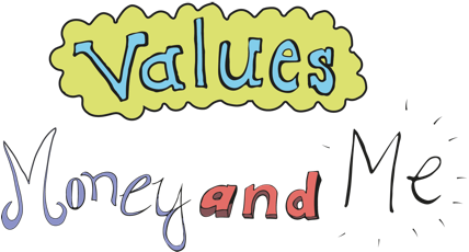 Values, Money and Me logo
