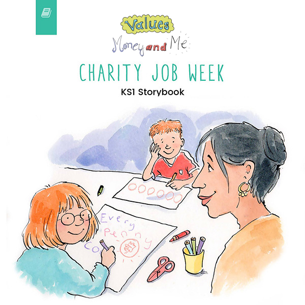 Charity Job Week KS1 book thumbnail image
