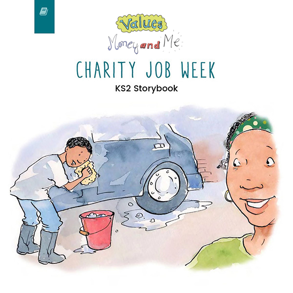 Charity Job Week KS2 book thumbnail image
